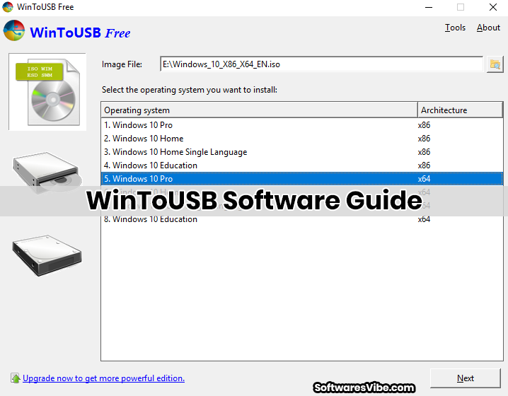 WinToUSB Software Guide