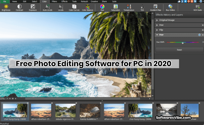 Free Photo Editing Software for PC in 2020